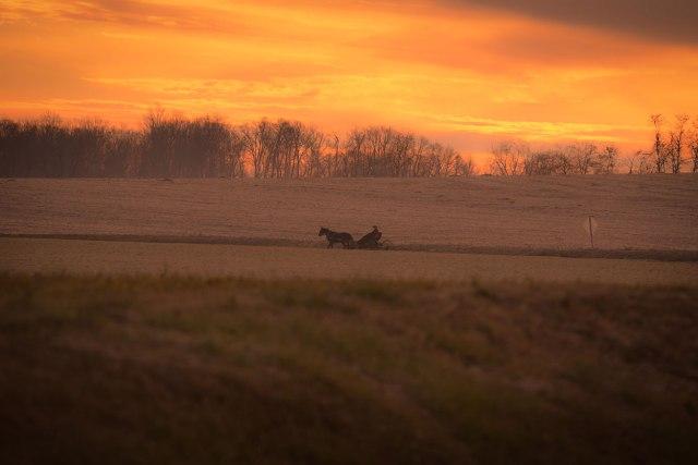 Amish-Sunset